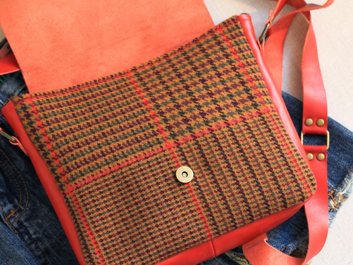 Небольшая женская сумка через плечо