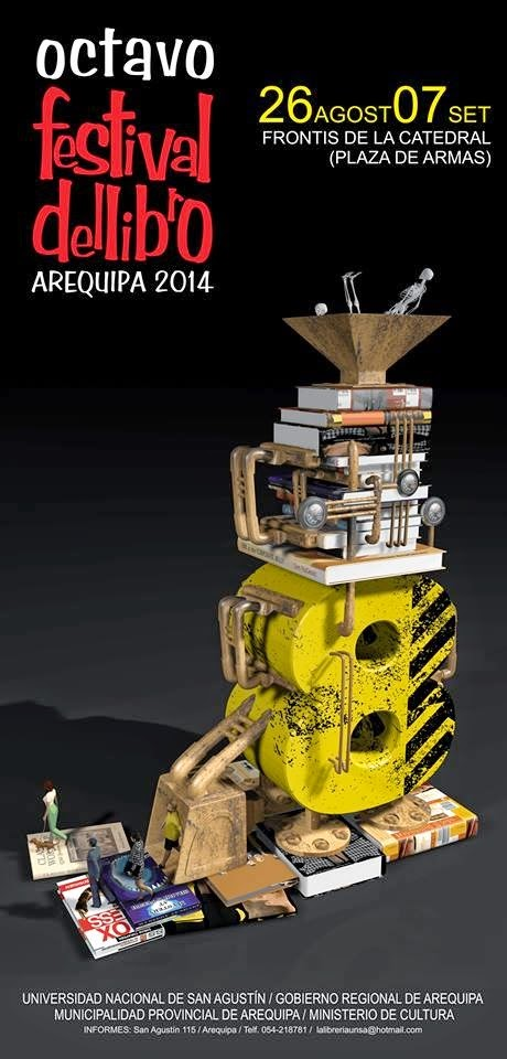 8vo Festival del Libro Arequipa 2014, del 26 de agosto al 07 de setiembre