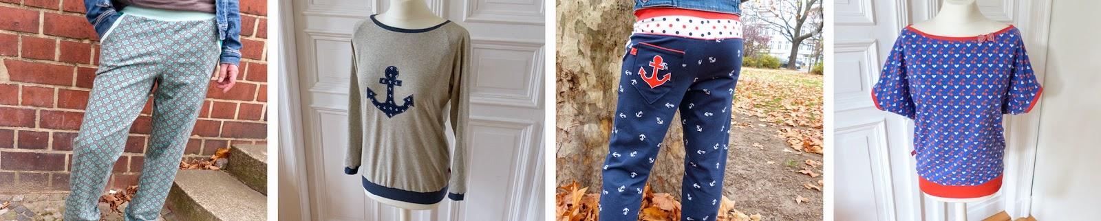 Genähtes für mich: Mamas Lieblingsbuxe, Raglanshirt Kaschi, Shirt kalte Schulter