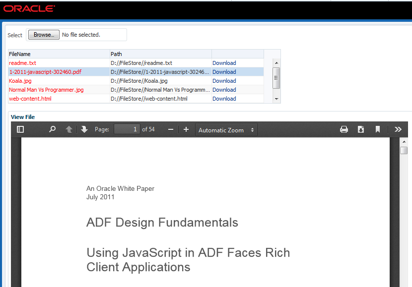 view pdf file in html page