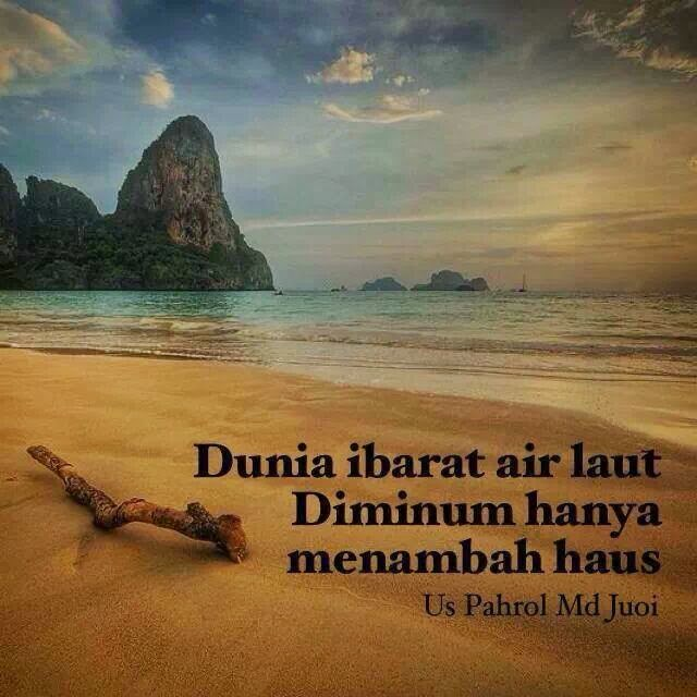 Quote Of The Day Dunia Air Laut