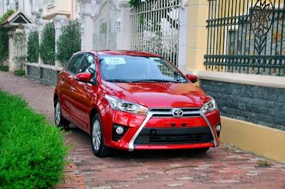 Toyota Yaris - một trong những mẫu xe du lịch nhập khẩu lớn nhất từ khu vực ASEAN
