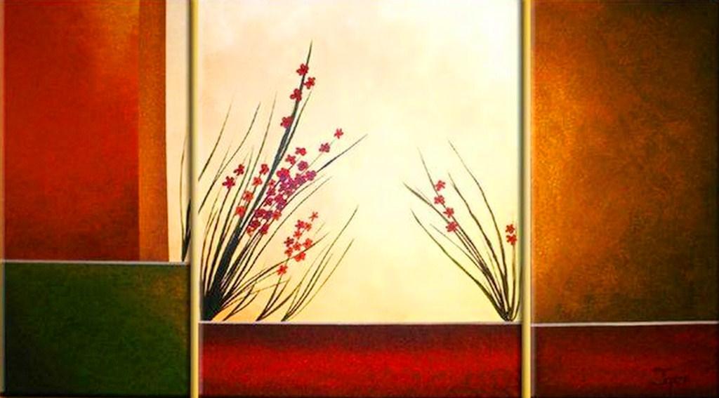Cuadros pinturas oleos cuadros tr pticos modernos - Cuadros muy modernos ...