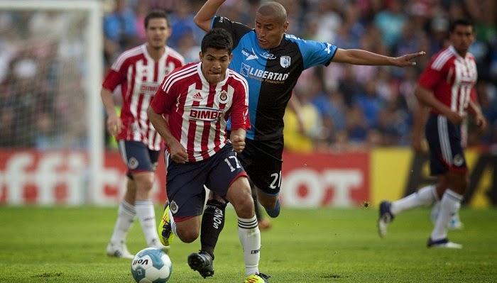 Queretaro vs Chivas de Guadalajara en vivo