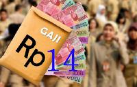 2016, PNS bakal dapat Gaji ke-14 udah dapet gaji 12 dan gaji 13, tahun depan bakalan dapat lagi tunjangan gaji ke 14. Apaan sih gaji ke 14 itu