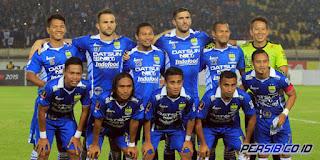 Persib Bandung Menang 4-0 atas Persiba Balikpapan