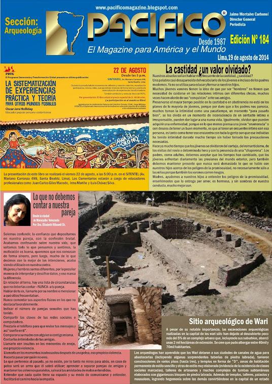 Revista Pacífico Nº 184 Arqueología