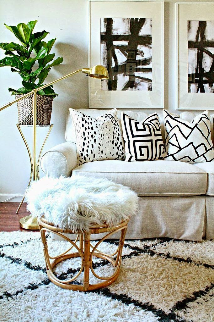 25 ideas de decoraci n de salas que poner al lado del sofa Living room ideas 2016