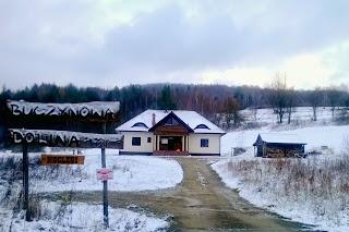 Buczynowa Dolina zimą, śnieg, feire z dzieckiem