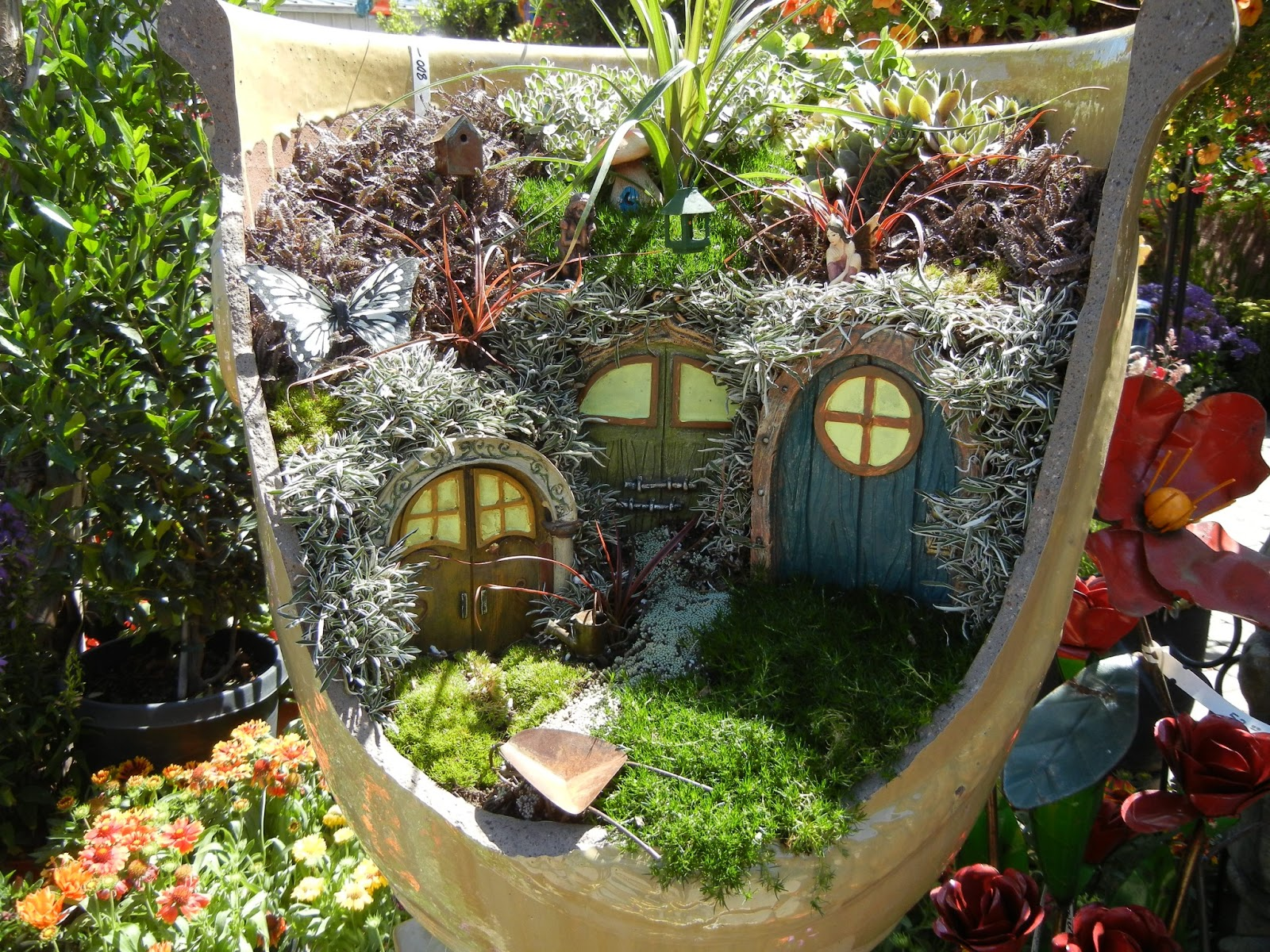 The second half who loves fairy gardens Small garden fairies