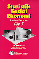 toko buku rahma: buku STATISTIK SOSIAL EKONOMI, Bagian Pertama Edisi 3, pengarang djawanto, penerbit BPFE yogyakarta