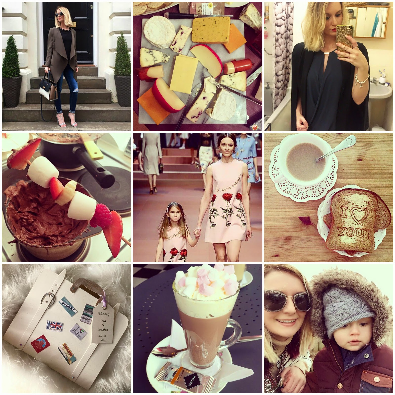 LIFESTYLE: Happy Highlights from my Week, lifestyle, my week in pictures, my month in pictures, lifestyle blogger, modemadeleine, photo montage, memories