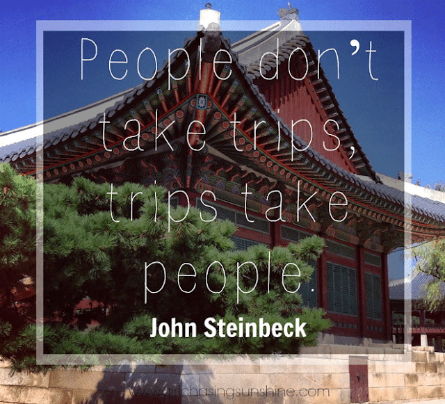 Travel Pictture Quote People don't take trips, trips take people by John Steinbeck