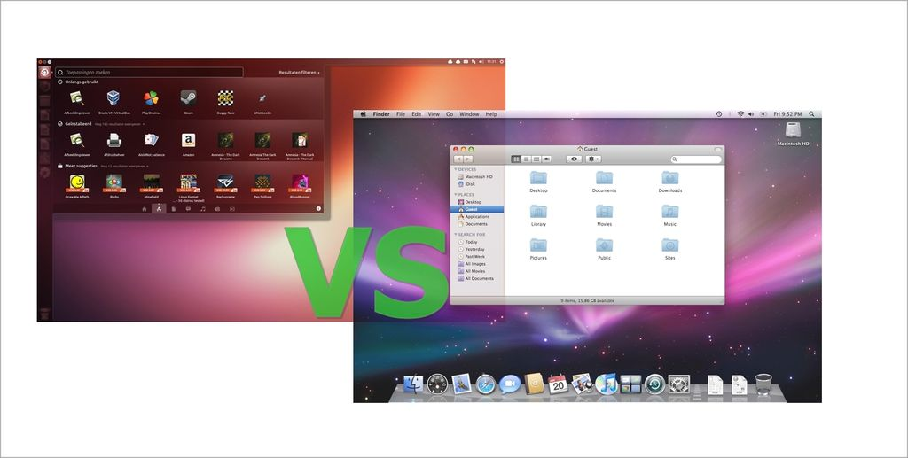Linux VS Mac