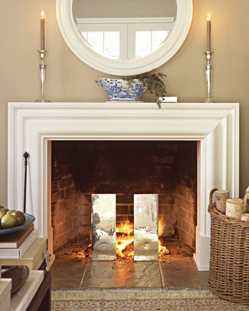 Jamie Figari Design Accessorizing 101 Fireplace Mantel