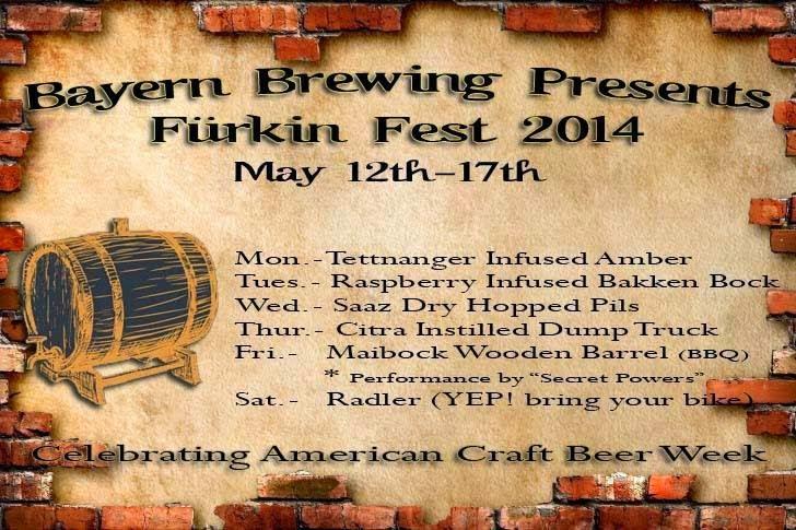 Bayern Brewing Furkin Fest 2014