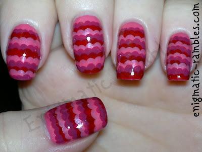 pink-ruffle-nails-manicure-nail-art-freehand-dotting-tool