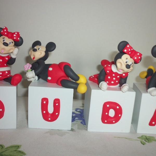 Cubos da Minie e do Mickey