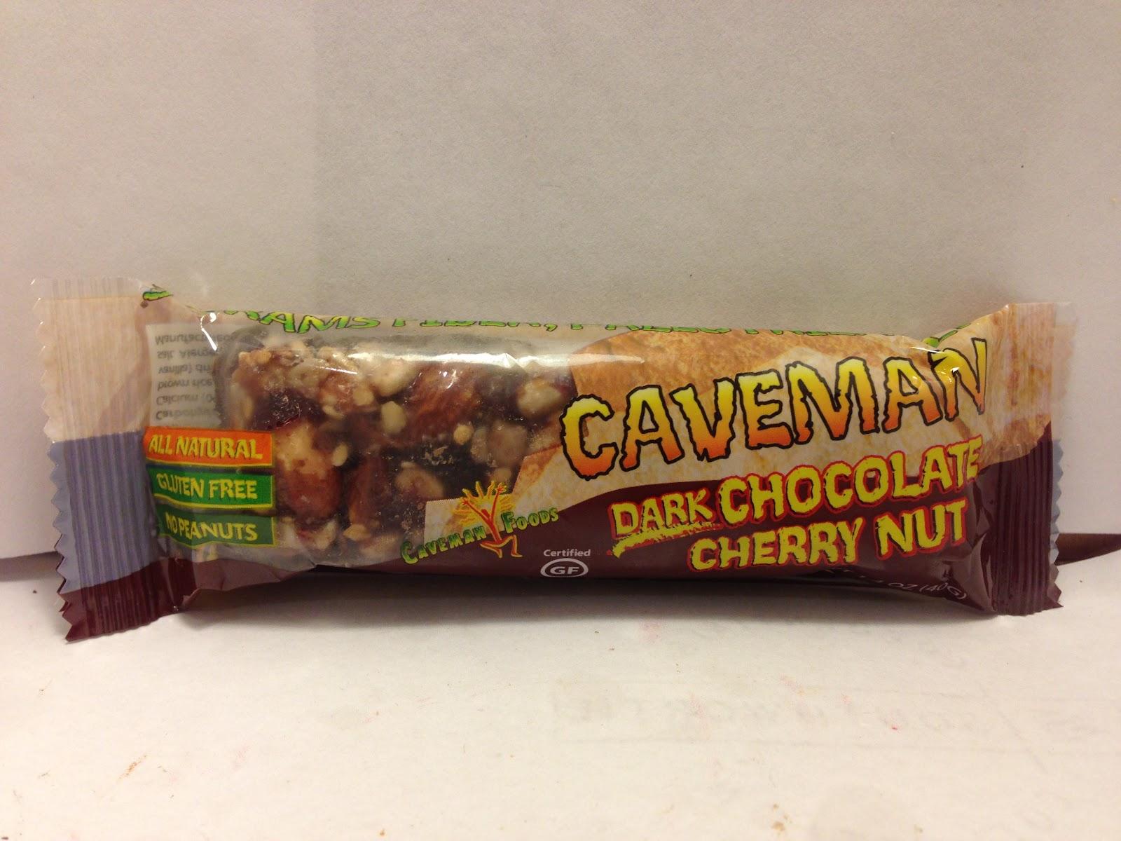 Caveman Food Bars : Crazy food dude review caveman dark chocolate cherry nut bar