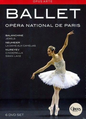 BALANCHINE / DUPONT / GILLOT / LETESTU / OSTA - PARIS OPERA BALLET BOX NEW DVD