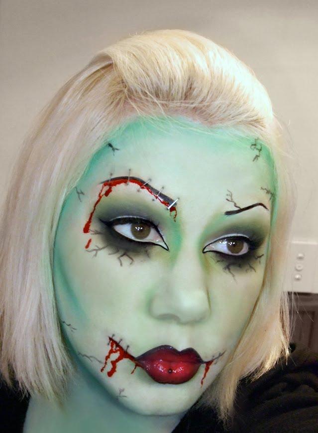 Scary Halloween Face Makeup Ideas