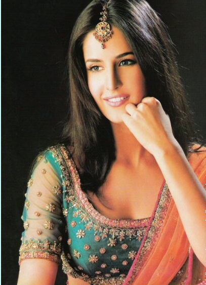 Katrina Kaif Hot in Saree