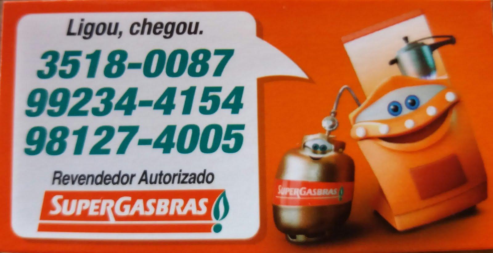 Peças já seu gás de 13 kg ou sua água na SuperGasbras
