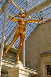 Diana by Saint-Gaudens