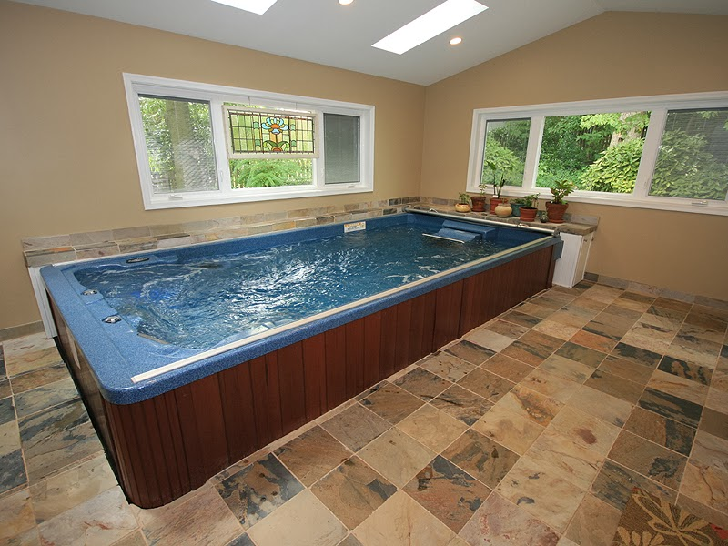 Image Gallery Indoor Swim Spa