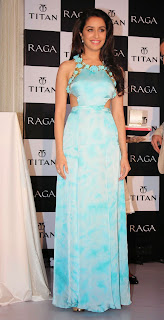 Shraddha Kapoor unveil the Raga Pearls collection of watches by Titan