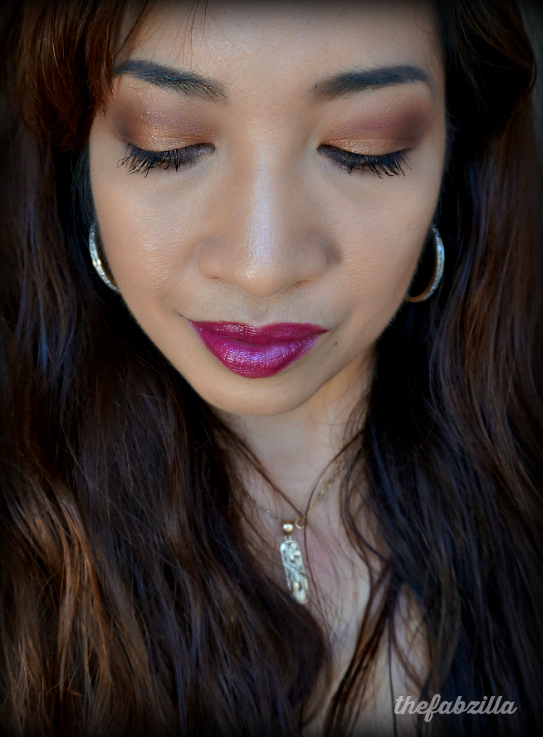 Gucci Beauty, Gucci Eye Magnetic Color Shadow Quad 040 Autumn Fire, Review, Swatch, FOTD