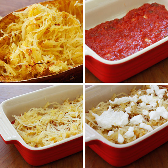 Spaghetti Squash Lasagna   Skinnytaste