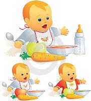 Makanan sehat untuk bayi anda
