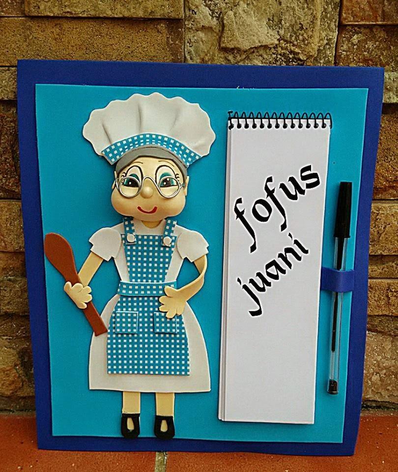 Juani manualidades libretas cuadros para la cocina - Cuadros originales para cocina ...