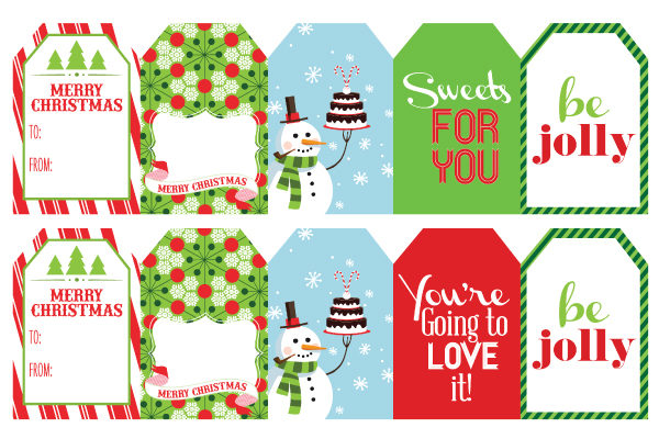 20 christmas gift tags wants wishes - Printable Christmas Name Tags