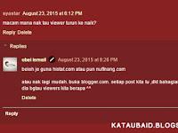 Tutorial : Cara Untuk Melihat Viewers Blog !