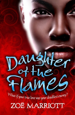 Book cover of Daughter of the Flames by Zoe Marriott