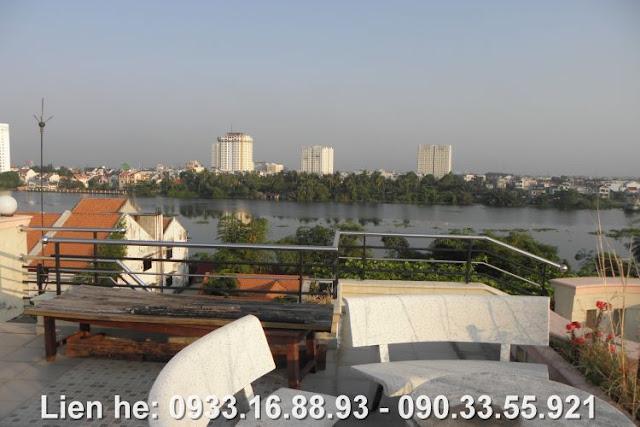 Cho thuê Biệt Thự View sông Sài Gòn