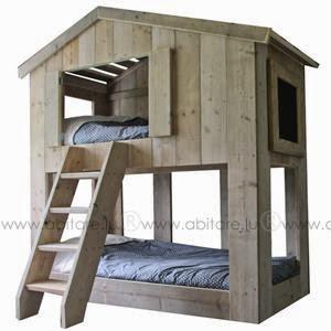 d co tableau personnaliser son int rieur percher son lit dans une cabane un vrai r ve d. Black Bedroom Furniture Sets. Home Design Ideas