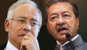 Najib takut bantah campur tangan Mahathir