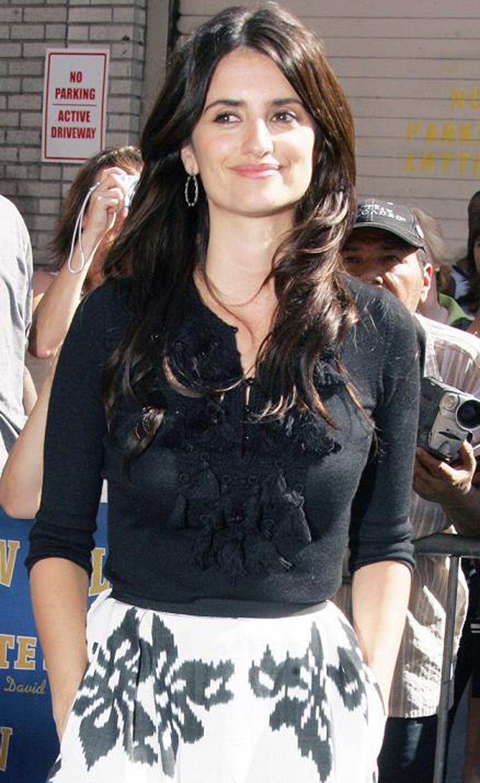 Fashionable Celebrity Hairstyle Penelope Cruz 25