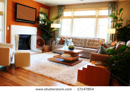 Living Room Design With Fireplace And Tv