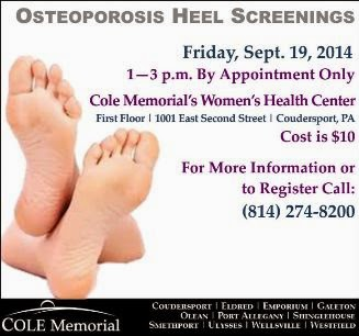 9-19 Osteoporosis Heel Screenings