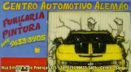 CENTRO AUTOMOTIVO ALEMÃO Funilaria e Pintura