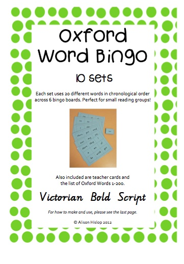 teaching and assessment of sight words