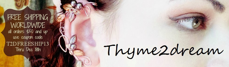 Thyme2dream ~ Fairytale Celtic Wedding Jewelry, Ear Cuffs, Accessories