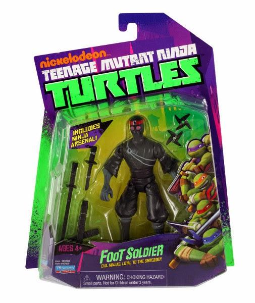 JUGUETES - LAS TORTUGAS NINJA  Soldados del Clan del Pie | Foot Soldier | Robopies  Figura - Muñeco | Serie 1 Básica  Producto Oficial | Playmates | A partir de 4 años