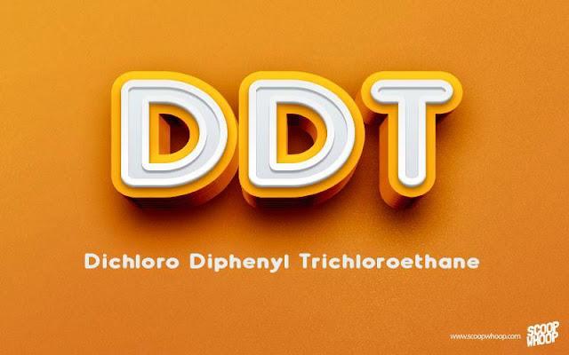 DDT-DICHLORO-DIPHENYL-TRICHLOROETHANE