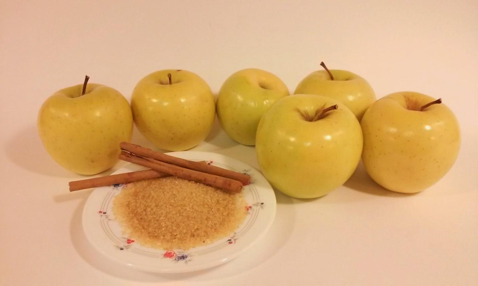 Manzanas al horno con canela