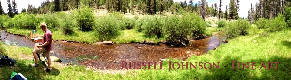 Russell Johnson - Fine Art